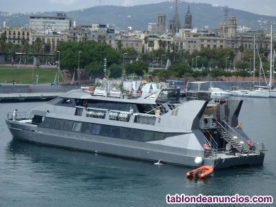 Catamaran para pasaje y turismo para 350 pax
