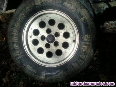 Vendo 4 llantas de aluminio jeep cheroke