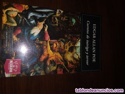 Cuentos de intriga y terror de Edgar Allan Poe