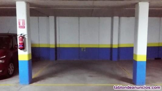 Se vende plaza de garaje en miramadrid
