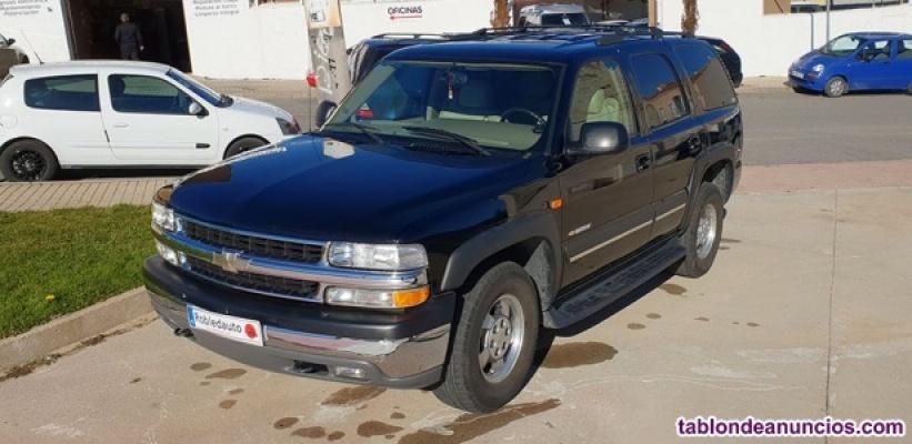 Chevrolet Tahoe 5.3 TL Cuero Color Negro