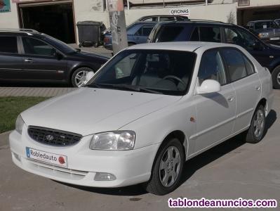 Hyundai accent 1.5 crdi gl, 82cv, 5p del 2002