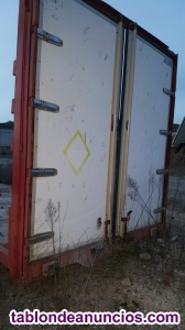 Caja de camion de 9m de largo sin lonas