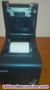 Caja registradora   y tikeadora .impresora  o f e r t a