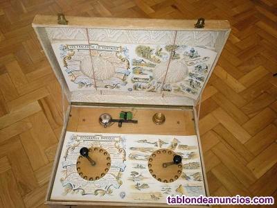 Antiguo juego electrico studio questionnaire electrique de fabricacion francesa