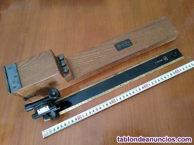 Antigua regla eclimetro tpycea madrid - clinometro - eclimetre - clinometre - cl