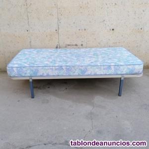Somier con colchón 90x180cm