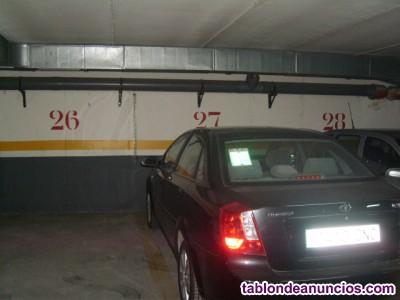 Plaza de garaje en zona céntrica
