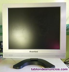 MONITOR PLANO DE ORDENADOR LCD DE 17 AMP;QUOT;