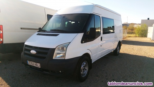Ford transit con bola enganche