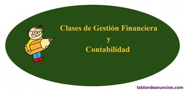 Clases de Gestión Financiera, Contabilidad...