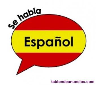 Clases de español para extranjeros personalizadas