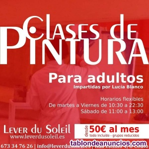 Clases pintura ourense