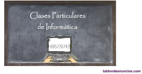 Clases particulares de informática
