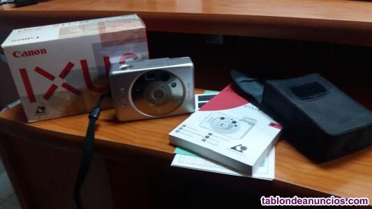 Cámara fotografica canon ixus z50