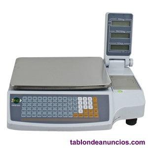Báscula digital con impresora
