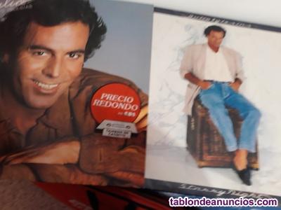 Discos antiguos l.p y singles.