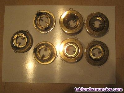 7 porta-halógenos empotrables multidireccionales.