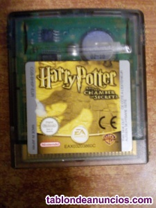 JUEGO GAME BOY COLOR HARRY POTTER Y LA CAMARA SECRETA