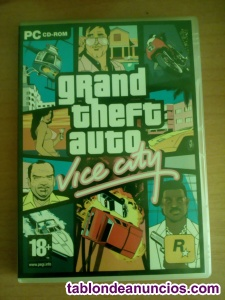 GRAND THEFT AUTO VICE CITY PARA PC