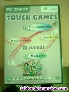 TOUCH GAMES PC 11 JUEGOS VOL 4