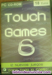 TOUCH GAMES PC 12 JUEGOS VOL 6
