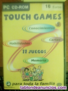 TOUCH GAMES PC 11 JUEGOS VOL 5