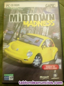 JUEGO PARA PC MIDTOWN MADNESS