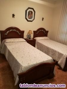 Dormitorio completo 2 camas