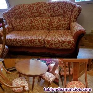 Venta mobiliario, vajillas, tv, decoración