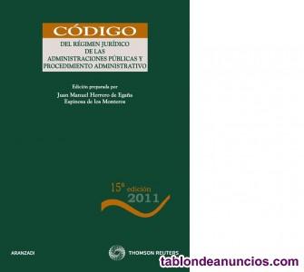 Código derecho administrativo, bancario, mercantil