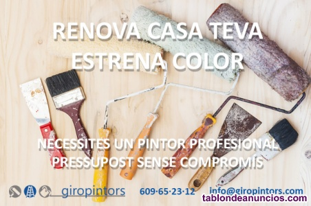 Giropintors - pintors professionals