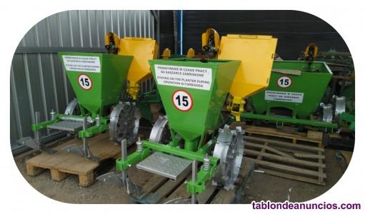 Plantadora de papas de 1 fila para tractores agrícolas