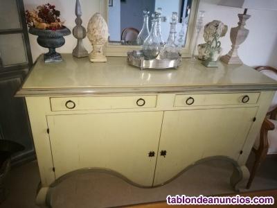 Mueble aparador salón de estilo francés - roche bobois (parís)