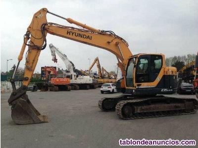 Excavadora hyundai 235 lcr