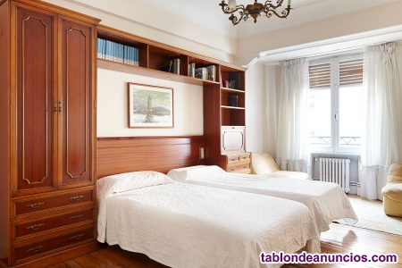 Eibar, alquiler de habitaciones con baño propio en piso compartido.