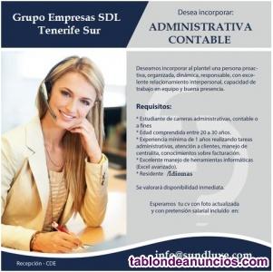 Secretaria Administrativa Idiomas