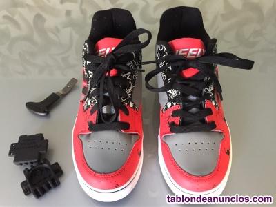 Zapatillas con ruedas heelys motion plus