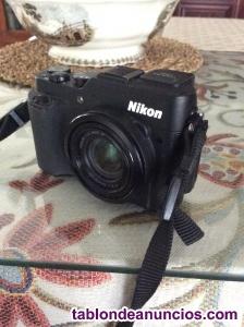 Vendo cámara Nikon coolpix p7800