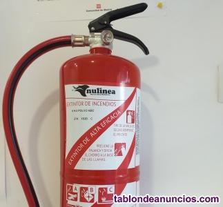 Vendo 2 extintores  6 kg