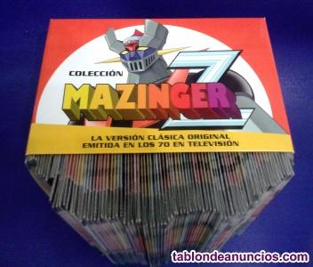 MAZINGER Z - Serie completa. 92 DVDs precintados.