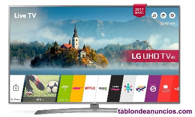 "LIQUIDACIÓN !!! Nuevo, 65"" UHD SMART TV LED UHD LG 65UJ670V + regalo plancha de"
