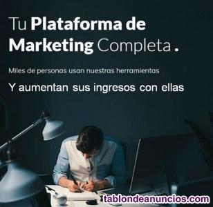 Tu plataforma de marketing completa para tu negocio