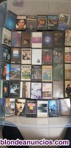 Colección de musicassettes