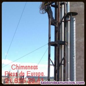 Empresa instalación tubería salida de humos cocinas hostelería en Madrid