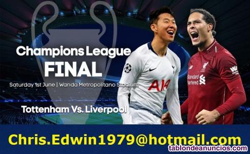 Tottenham vs liverpool - tickets madrid final