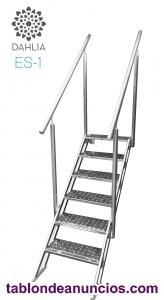 Escalera de piscina de facil acceso