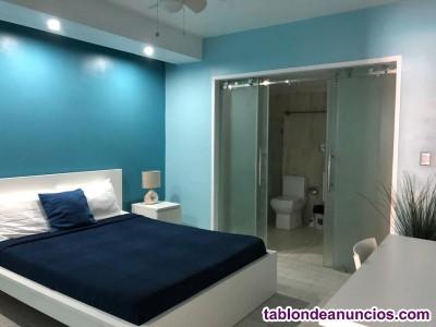 Apartamento en Punta Cana con WIFI, piscina, sauna, GYM, BBQ...