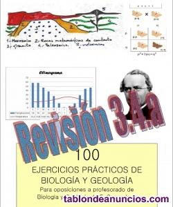 Temario biología y geología actualizado y material práctico,por catedrático