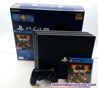 Ps4 pro 1tb call of duty 4